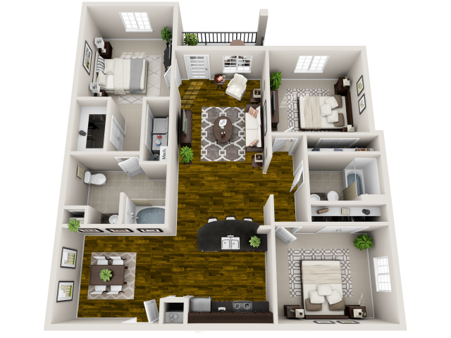 Ardea 3-D Floor Plan