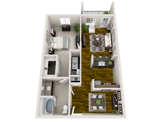 Floor Plan 2 | Maystone at Wakefield