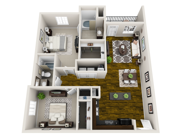 Floor Plan 4 | Maystone at Wakefield