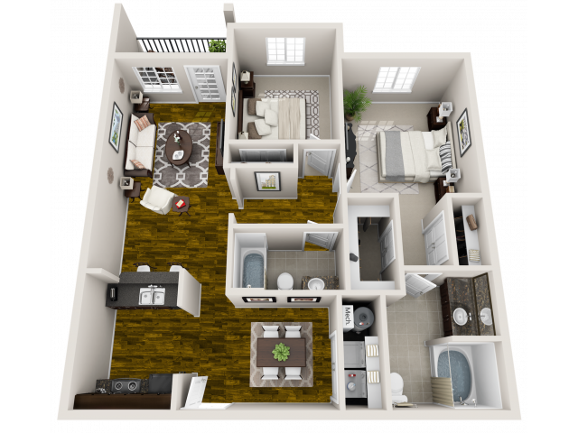 Floor Plan 6 | Maystone at Wakefield