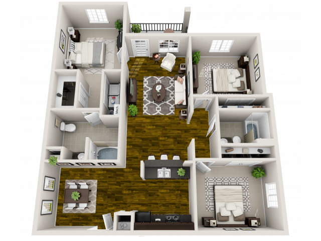 Floor Plan 8 | Maystone at Wakefield