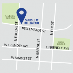 Carroll at Bellemeade Location Map