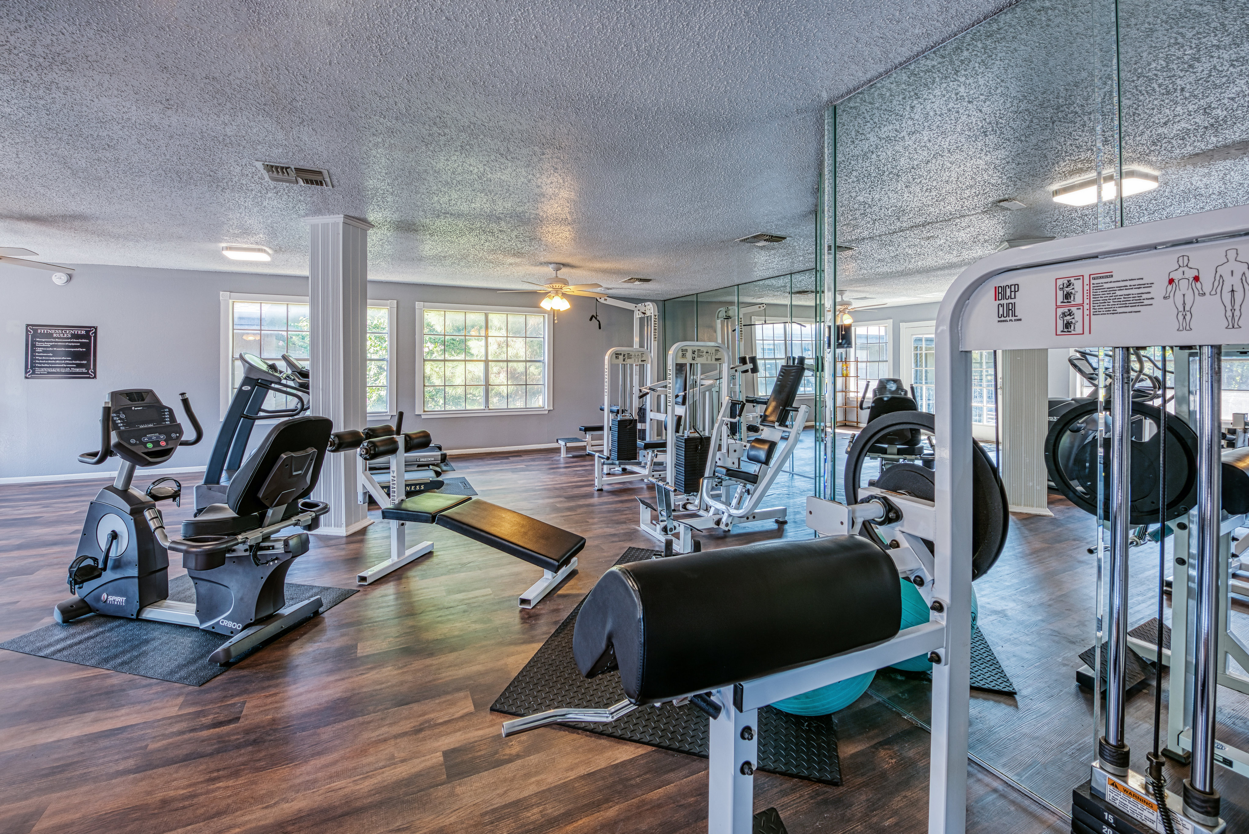 Image of 24 Hour Fitness Center for Savannah Oaks Apartments