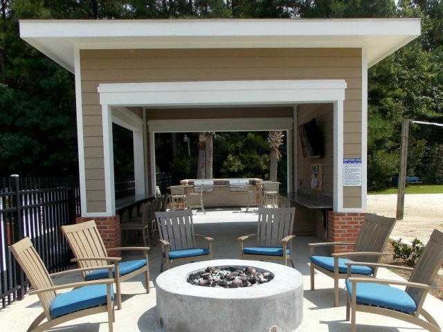 Fire Pit and Grill