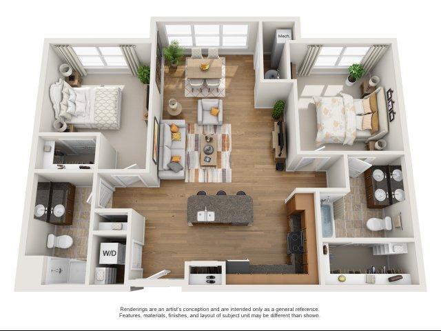 Luxury Apartments Williamsburg VA | Aura at Quarterpath