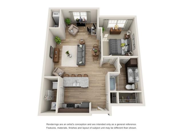 Himalaya 1 Bed Apartment Pinnacle Apartments Apartments Hampton Va