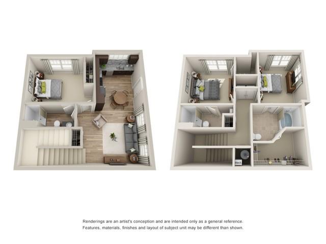 Enjoyable 3 Bed 3 Bath Apartment In Hampton Va Pinnacle Apartments Interior Design Ideas Jittwwsoteloinfo
