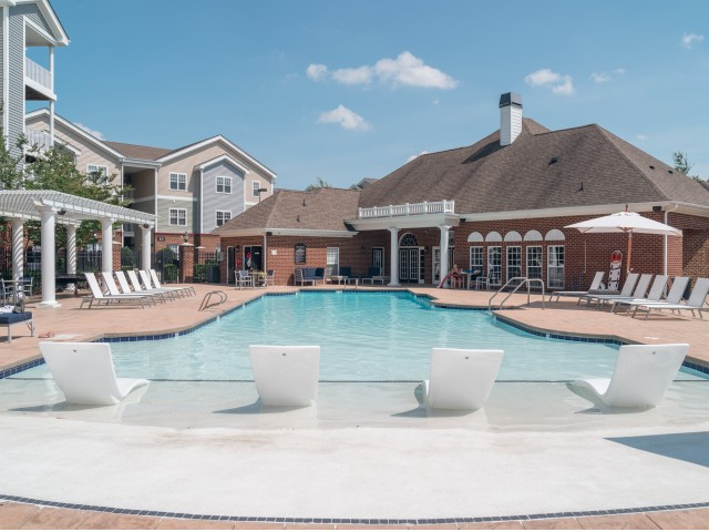 Image of Swimming Pool with Sundeck for Meridian Parkside