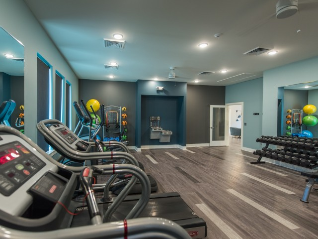 Image of State of the Art Fitness Center for Carriage Club