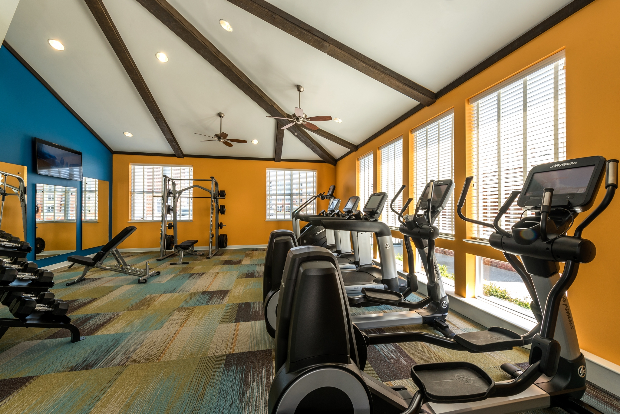 Resident Fitness Center   Infinity at Centerville Crossing