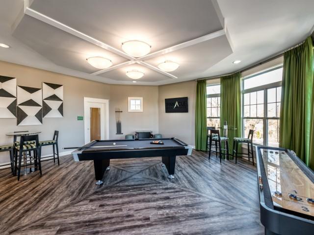 Fun Shuffle Board | Pinnacle Apartments