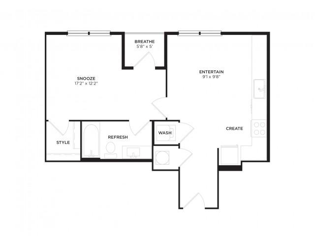 A1-ALT1 Floor Plan