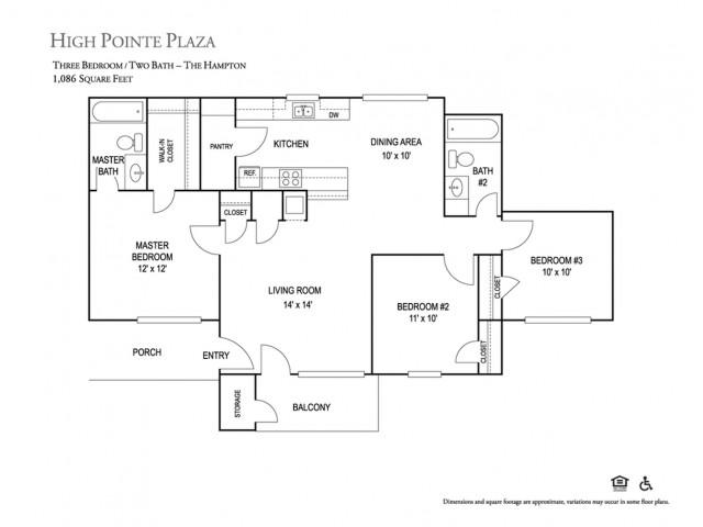 High Pointe Plaza Apts