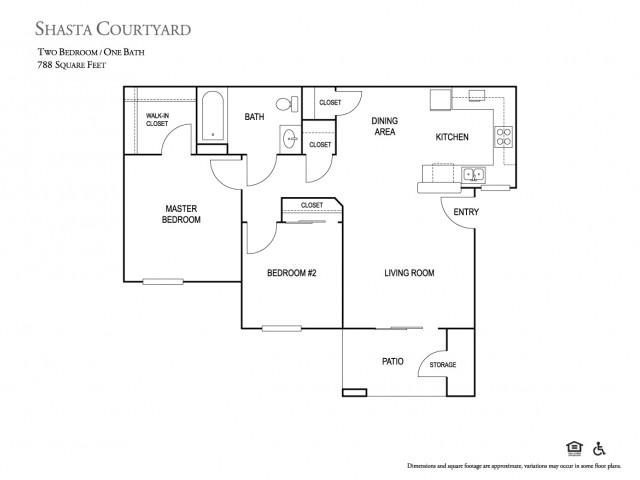 Shasta Courtyards