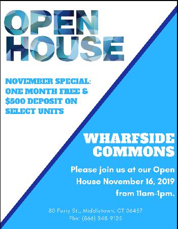 Open House Nov. 16, 2019