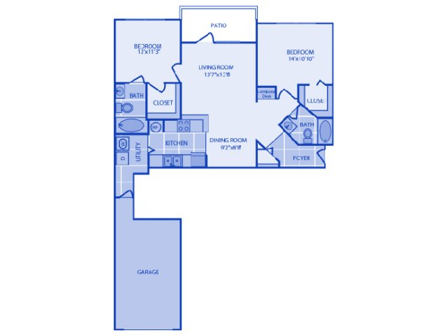 2 Bed / 2 Bath Apartment in Fort Myers FL | Ashlar Apartment Homes ...