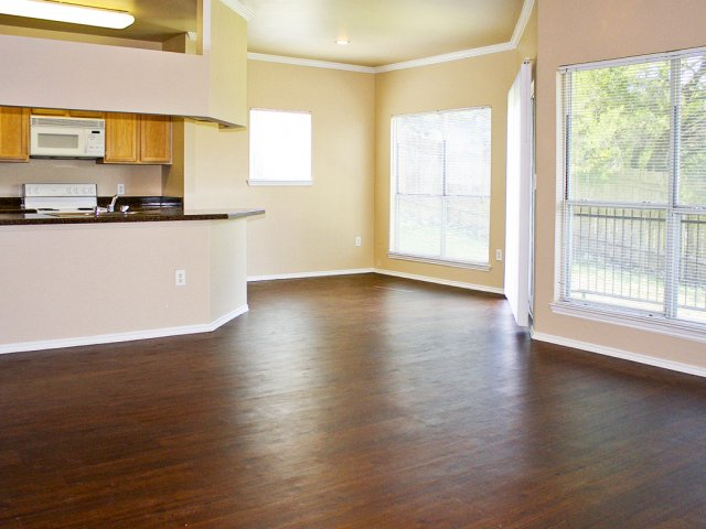 Open floor plan apartments | Austin TX rental