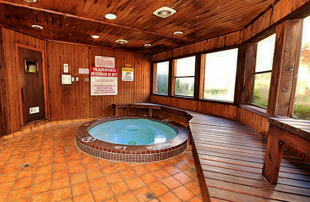 Relax after a long day or get your day off to the right start in the indoor jacuzzi