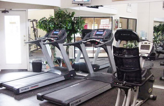 Get fit with access to the community's fitness center featuring cardio and weight machines