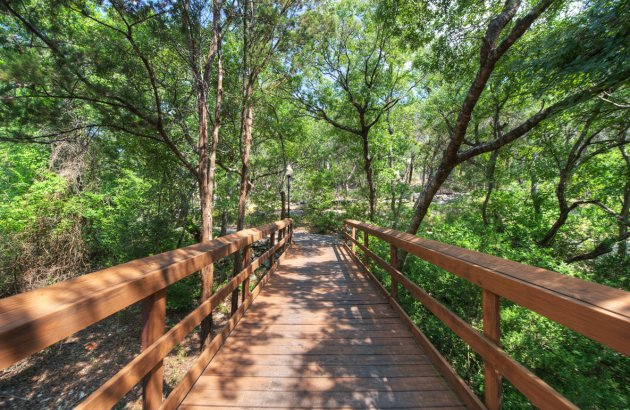 Enjoy a beautiful walk along the nature trails throughout the community