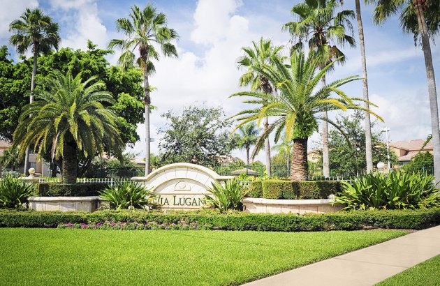 Enjoy a private and serene atmosphere in this gated community