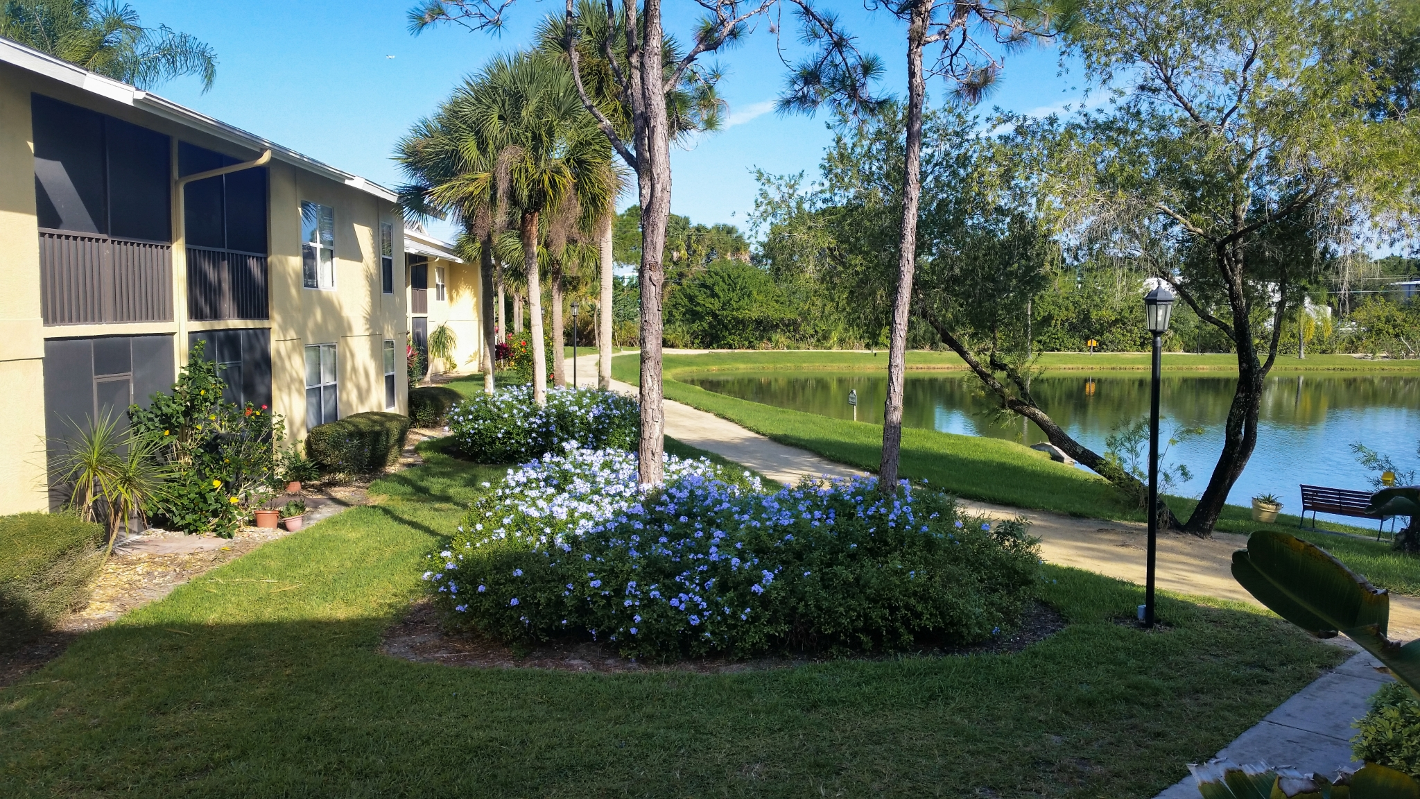 Walking jogging trail | Melbourne FL apartment complex