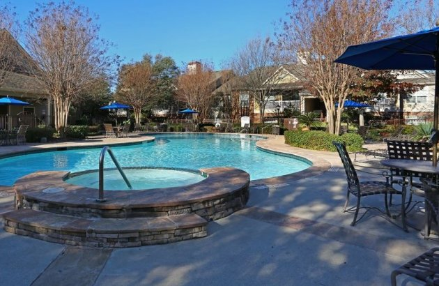 Spend a sunny day or warm afternoon by the resort style swimming pool