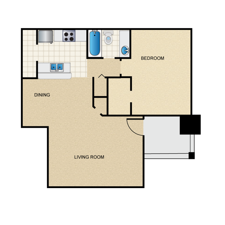 The Port St. George Floor Plan