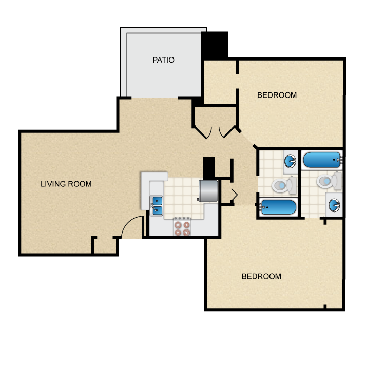 The Port Royale Floor Plan