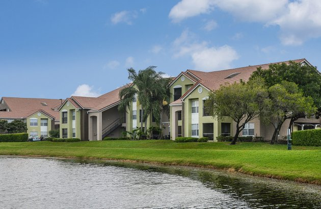 Enjoy serene views of Bear Lakes Golf Course from your home