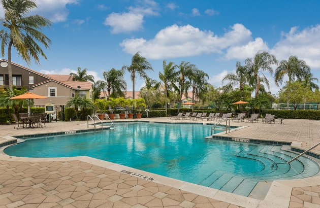 Spend a hot day or warm afternoon by the community pool and Jacuzzi