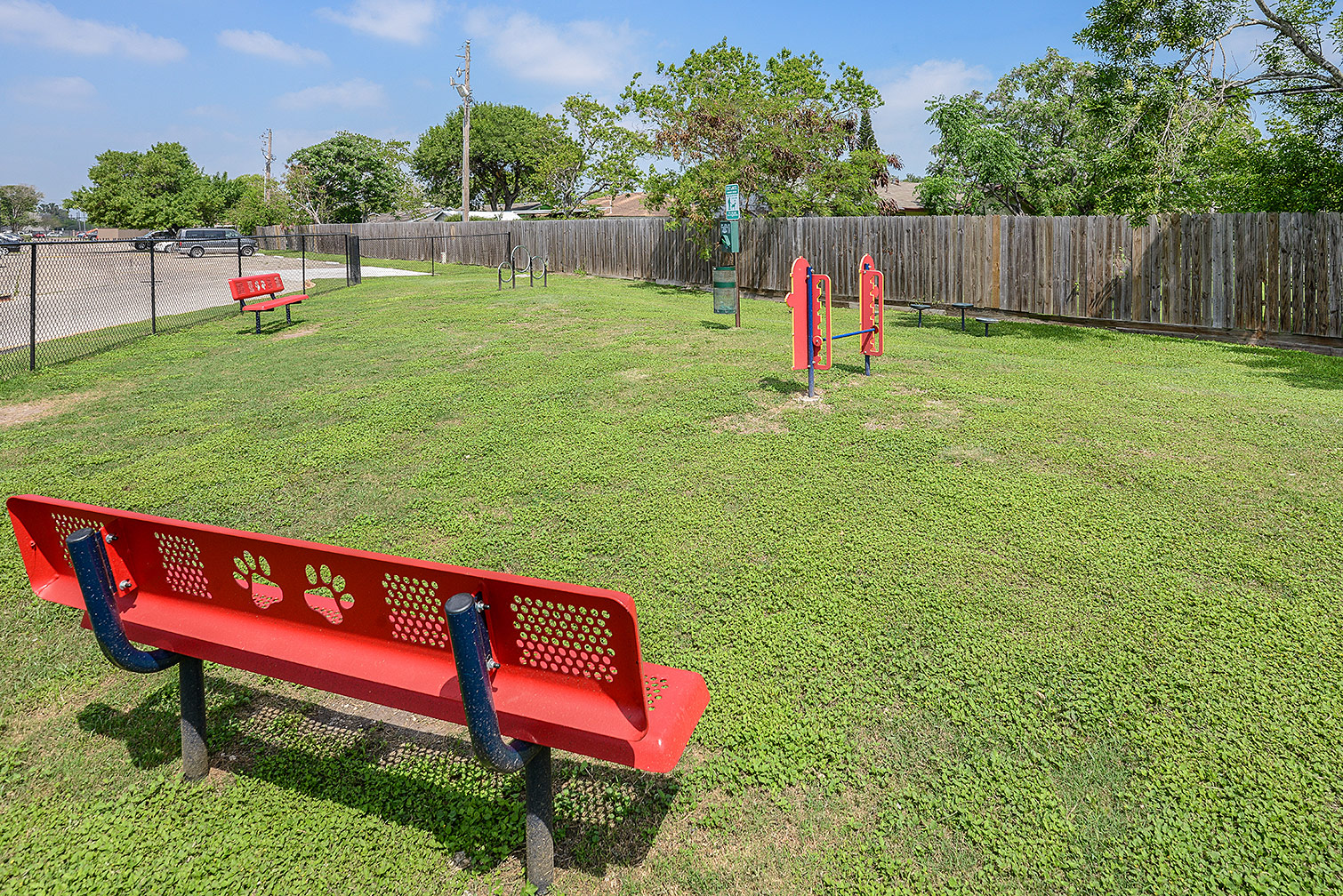 Corpus Christi apartments with dog park