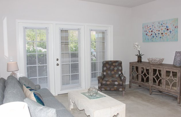 Enjoy 9ft ceilings, walk-in closets, private patios, and more