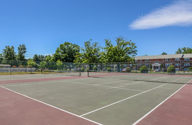 Enjoy a game on the community tennis courts