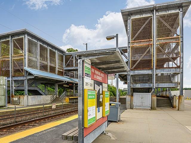 MBTA commuter rail station near Residences at Westborough station
