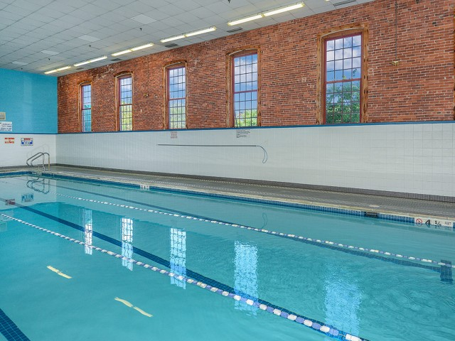 Indoor pool at Bigelow Commons rental