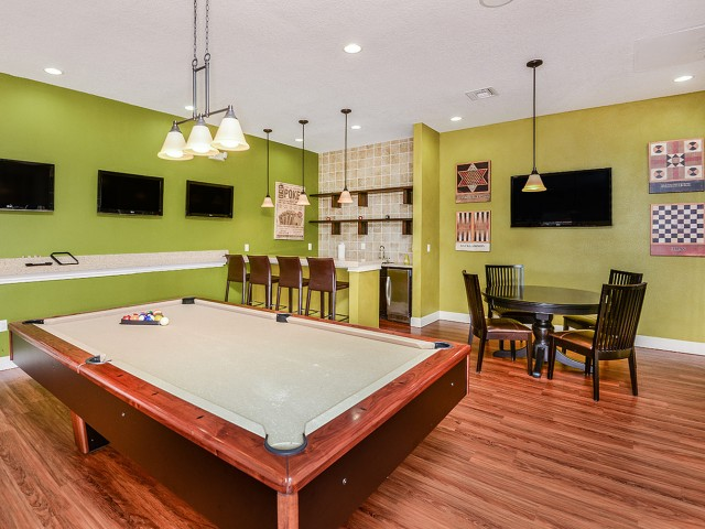 Bay Breeze Villas community game room