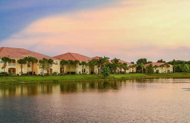 Take in gorgeous serene views from your home with lake views available
