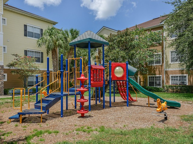 Orange City apartments with playground