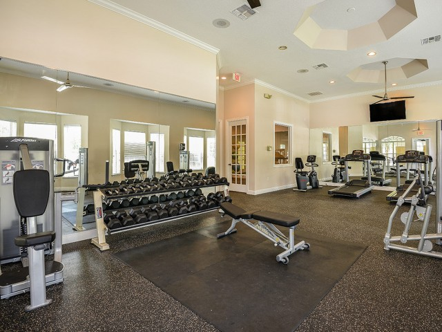 Orange City apartments with gym