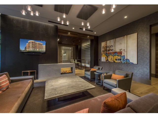 Image of TV Lounge for The Merc at Moody and Main