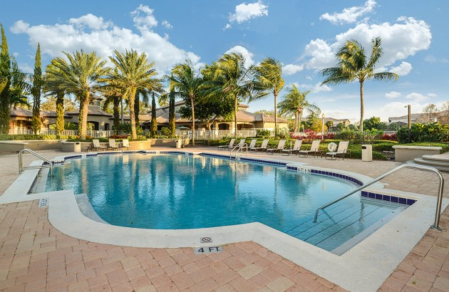 Spend a relaxing day or afternoon by the community heated pools