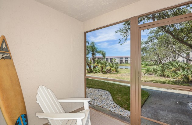 Enjoy outdoor space without leaving home with a screened-in patio or balcony