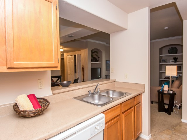 Kitchen includes dishwasher | Madison at Scofield Farms