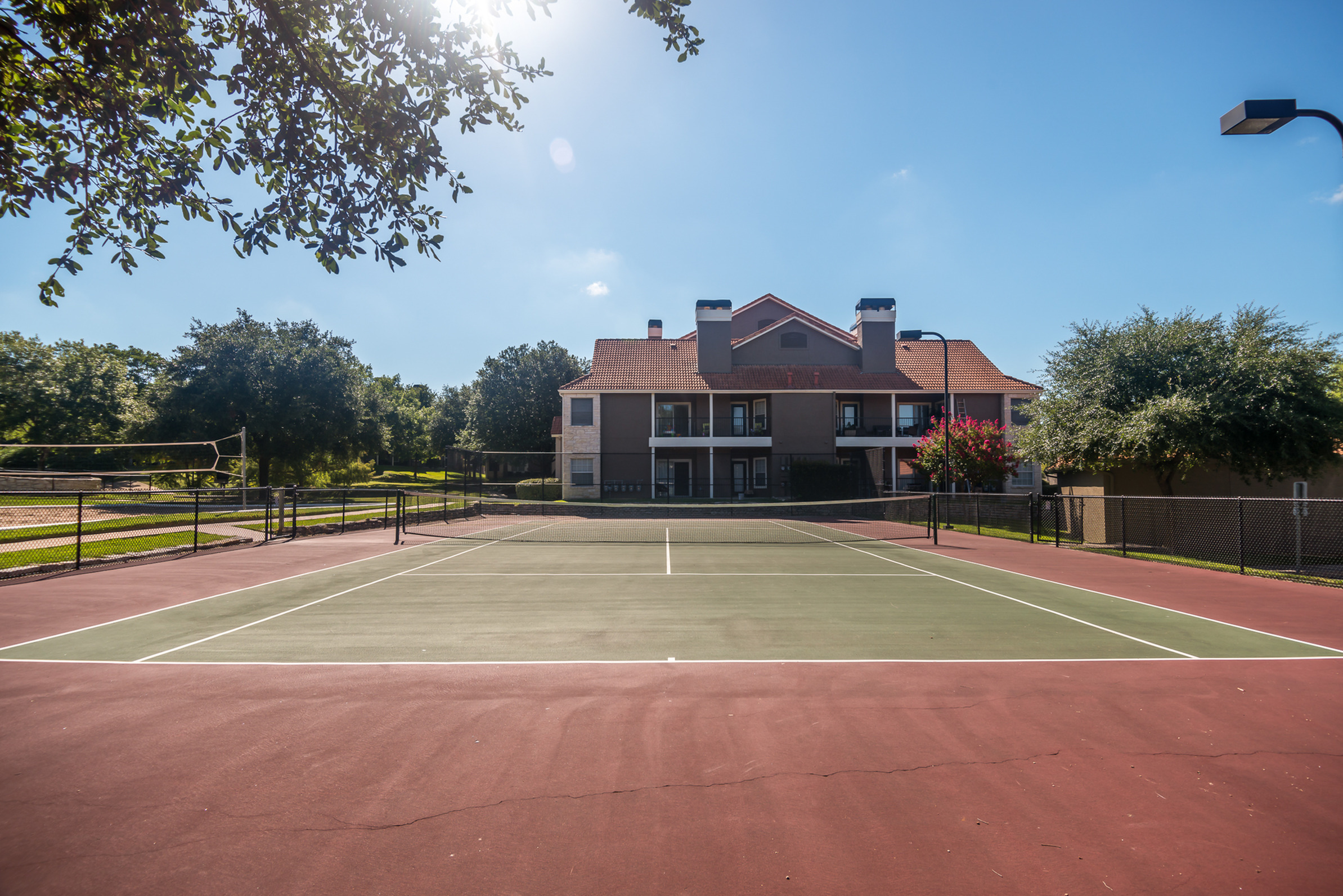 Tennis courts | Madison at Wells Branch apartments