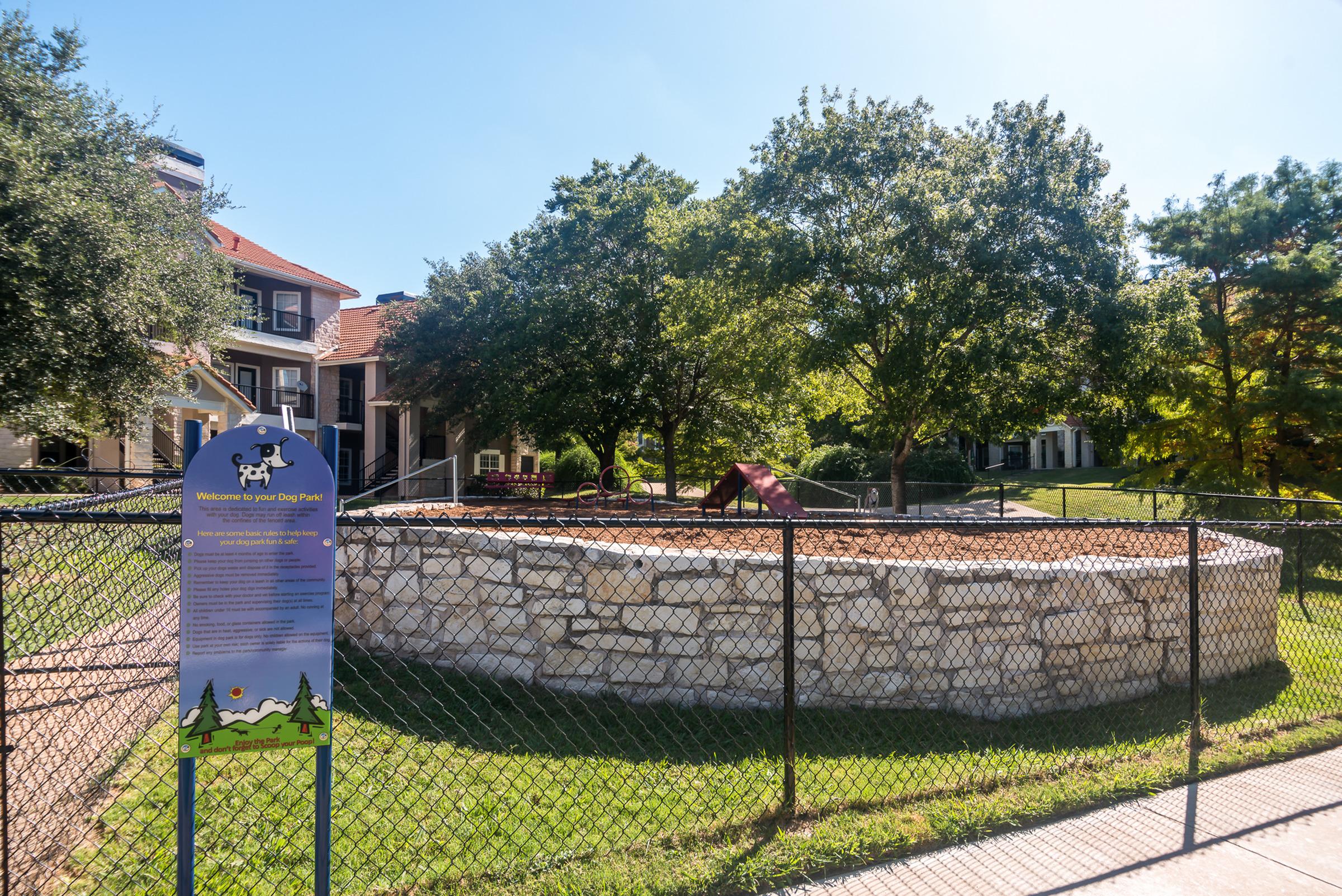 Dog Park | Austin TX pet friendly community