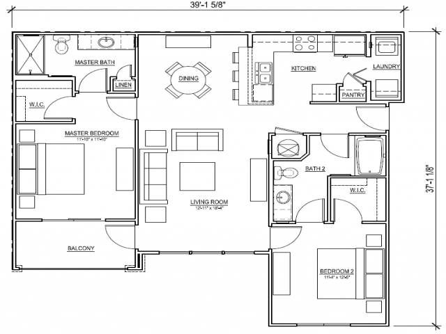 2 Bed / 2 Bath Apartment In Bradenton FL