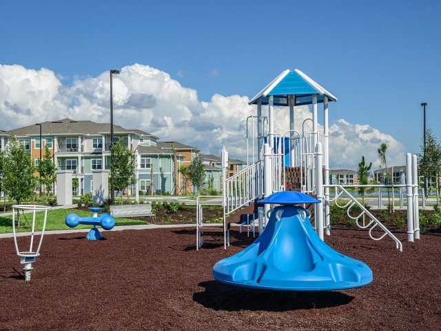 Kids playground at apartments in Lakewood Ranch