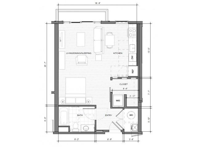 Studio-A-Balcony