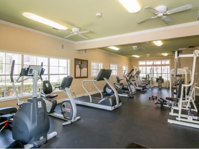 Apartment gym | Madison at Scofield Farms